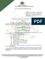 LEG Lei Complementar Nº 171997 e Suas Alterações (Organização Judiciária Do Estado Do Amazonas