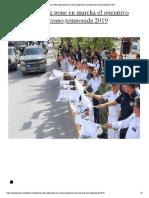 Laura Fernández pone en marcha el operativo vacacional de verano,temporada 2019