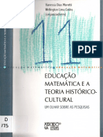 2017 - Radford A teoria da Objetição e seu lugar na pesquisa sociocultural em educação matemática