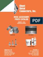 Hvac Accessory Catalog