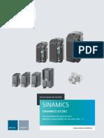 Instrucciones Servicio Sinamics G120C