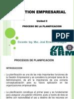 Unidad II Planificación