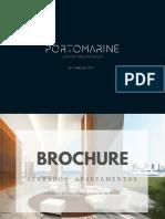 Brochure Alternativas de Marmol Apartamentos Edificio Portomarine
