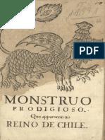 Relacao de Um Monstro Prodigioso Que Apareceu No Reino Do Chile..._relação de Hum Monstruo Prodigioso Que Appareceo No Reino Do Chile