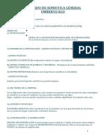 TRATADO DE SEMIOTICA GENERAL - UMBERTO ECO - Resumen y Mapa Conceptual.docx
