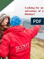 General Info - Scout Adventures Volunteering