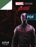 Subasta Marvel Television Live Auction Catalog