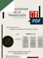 Complicaciones Transfusionales cirugia