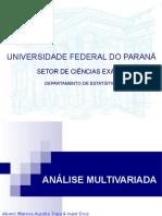 Analise Multivariada AulaUFPR