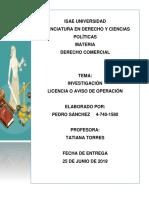 Avisos de Operación en Panamá
