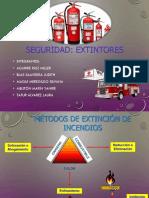 Trabajo Grupal de Extintores - Practicas III ADMINISTRACIÓN IX -B
