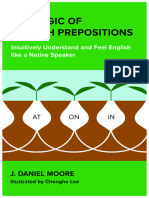 The Logic of English Prepositions (1)