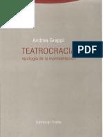 Greppi Andrea - Teatrocracia