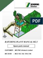 Spare Parts Manual M2.5 - 133, 134, 135 & 136 File-I