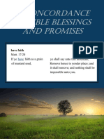 A Concordance of Bible Blessings and Promises