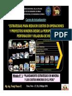 Módulo 1 - Planeamiento Estrategico y Costos Mineros en El Peru (27-May-16)