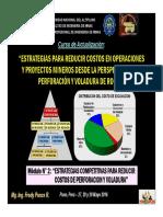 Módulo 2 - Estrategias Competitivas Para Reducir Costos de Perforacion y Voladura (27-May-16)