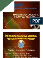 Innovaciones Pedagógicas.9