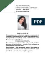 Anyi Liseth Perez Tocto Cv Actualizado