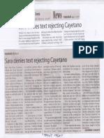 Manila Times, July 11, 2019, Sara denies text rejecting Cayetano.pdf