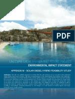 Appendix m Solar Diesel Hybrid Feasibility Study