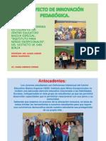 Proyecto de Innovación Pedagógica.10