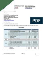 Sinotrans Quotation for Transmarco v20190703