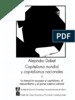 Dabat Alejandro - Capitalismo Mundial Y Capitalismos Nacionales