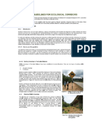 Guidelines for Ecological Corridors and Wildlife Crossings
