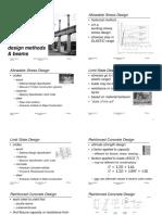 Design Methods & Beams