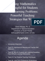 18 Making Math Meaningful for Students With Learning Problems Powerful Teaching Strategies That