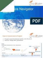 Customize Navigator Menu
