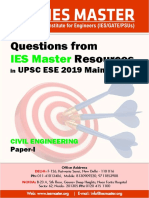 Civil Engineering Paper I