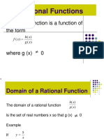 Rational Functions (1)