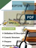 PPT descriptive text.ppt