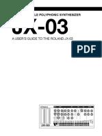 Jx93 manual