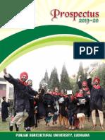 PUA Propectus 2019-20