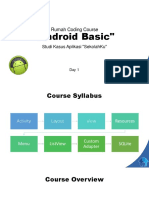 Android Basic Day 1