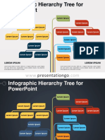 Powerpoint template-Infographic-Hierarchy-Tree