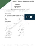 Class-6 Mathematics Short Questions