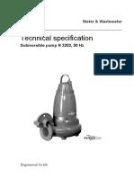 Flgyt 3020 Technical Spec