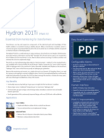 Hydran 201Ti (Mark IV) Essential DGA monitoring for transformers