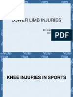 Lower Limb Injury