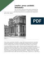 Hitler Je Naredio - Prvo Uništiti Narodnu Biblioteku