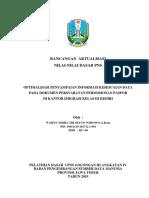 Cover & Lembar Persetujuan RA