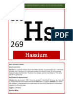 HUMSS-B SalvatusReyN Manmadeelements Hassium