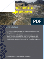 Power Pòint Mineria a Cielo Abierto Macizo