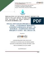 1.Vol. I - FDPR a-42 - Lower Narmada_revision-I_updated (1)
