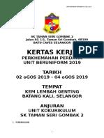 Kertas Kerja Perkhemahan u.uniform 2019