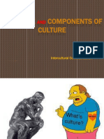 1. Culture and Components of Culture